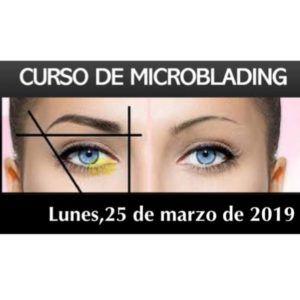 25 de marzo. Curso de Microblading
